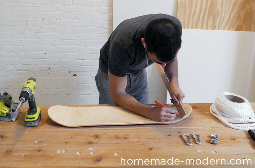 HomeMade Modern DIY EP35 The Skate Swing Step 1