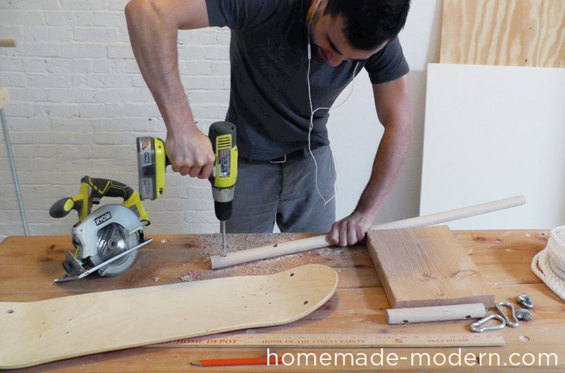 HomeMade Modern DIY EP35 The Skate Swing Step 2