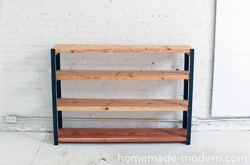 HomeMade Modern DIY EP36 Ironbound Bookcase Options