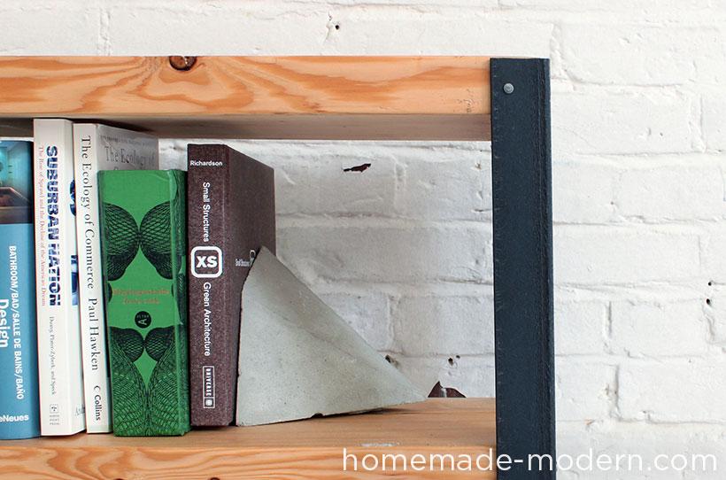 HomeMade Modern DIY EP36 Ironbound Bookcase Options