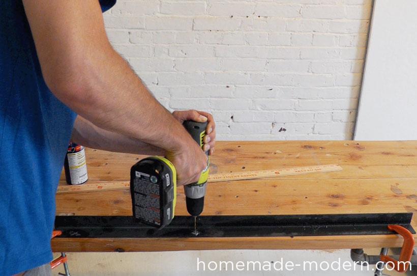 HomeMade Modern DIY EP36 Ironbound Bookcase Step 2