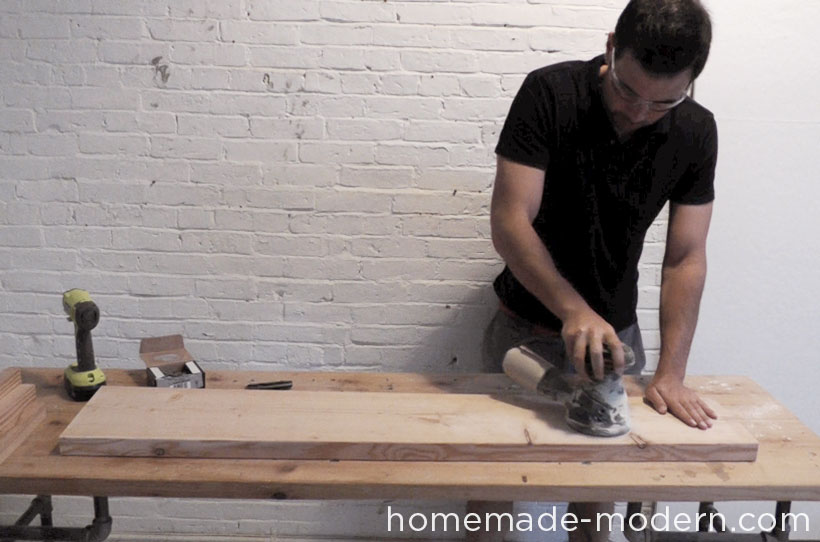 HomeMade Modern DIY EP36 Ironbound Bookcase Step 5