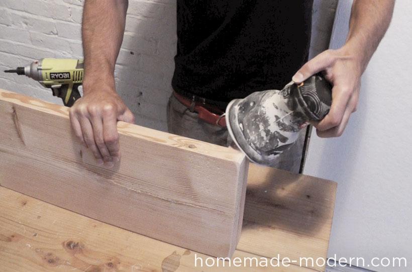 HomeMade Modern DIY EP36 Ironbound Bookcase Step 7