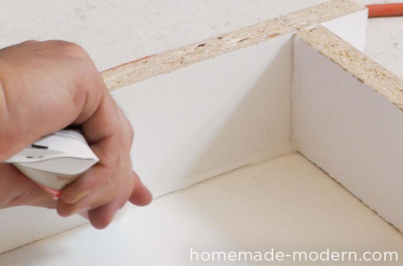 HomeMade Modern DIY EP38 Wood + Concrete Kitchen Island Step 4