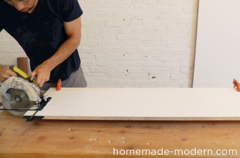 HomeMade Modern DIY EP40 Concrete + Iron Bar Table Step 1