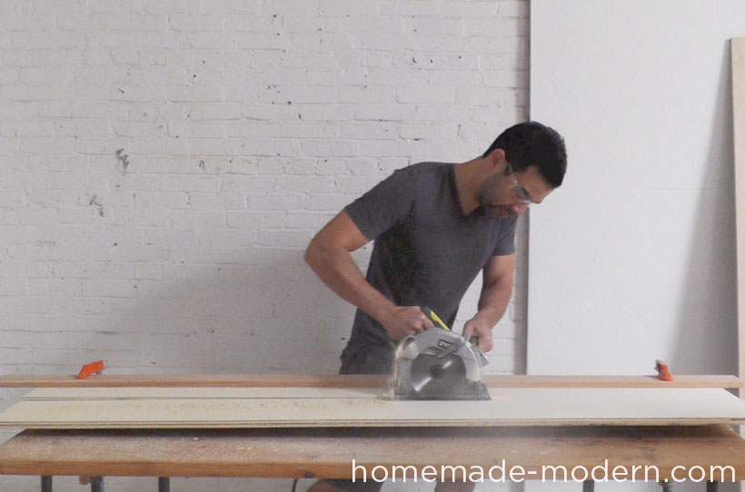 HomeMade Modern DIY EP41 The Easy DIY Table Step 2