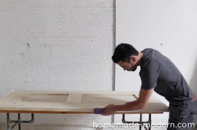 HomeMade Modern DIY EP41 The Easy DIY Table Step 4