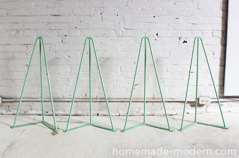 Homemade Modern Diy The Easy Table Supplies