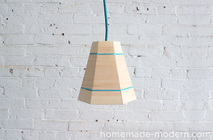 HomeMade Modern DIY EP42 Wood Pendant Lamp Options