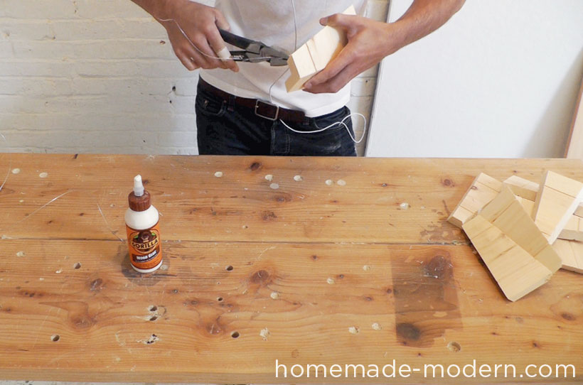 HomeMade Modern DIY EP42 Wood Pendant Lamp Step 3