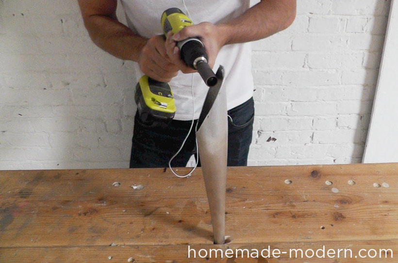 HomeMade Modern DIY EP43 Baseball Bat Lamp Step 5