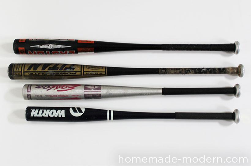 HomeMade Modern DIY EP43 Baseball Bat Lamp Supplies