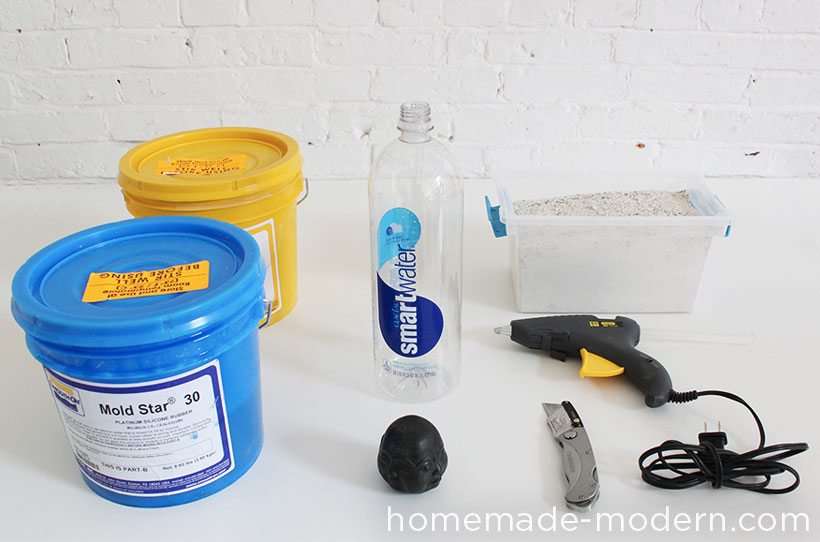 HomeMade Modern DIY Silicone Mold Making and Concrete Casting Supplies