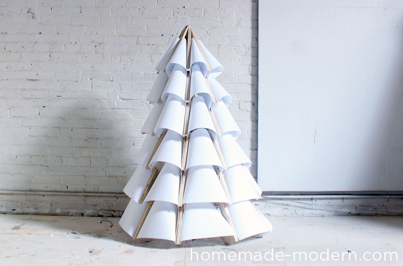 HomeMade Modern DIY Xmas Tree Options