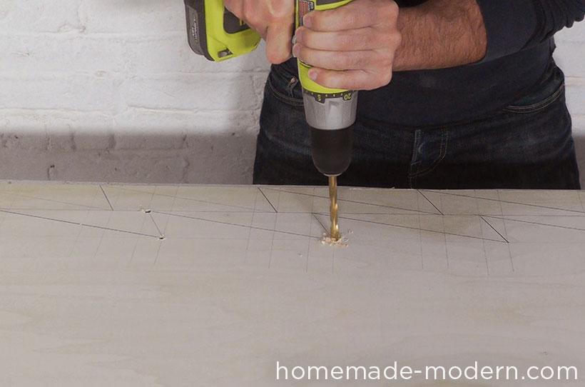 HomeMade Modern DIY EP41 Xmas Tree Step 3