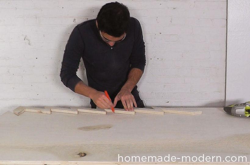 HomeMade Modern DIY EP41 Xmas Tree Step 5