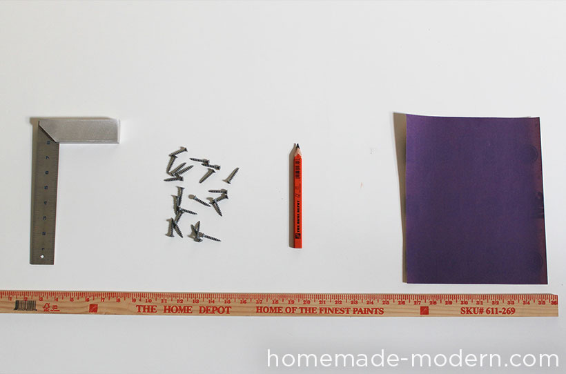 HomeMade Modern DIY Xmas Tree Supplies