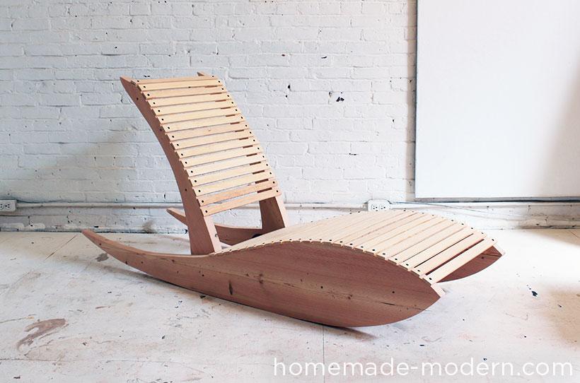 Homemade modern ep52 lounge chair 1 0 for Diy lounge chair