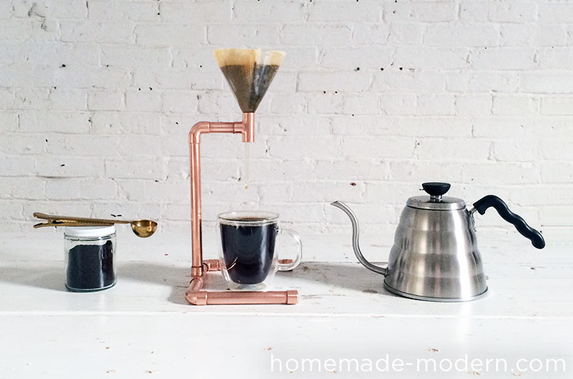 HomeMade Modern DIY Copper Coffee Maker Options