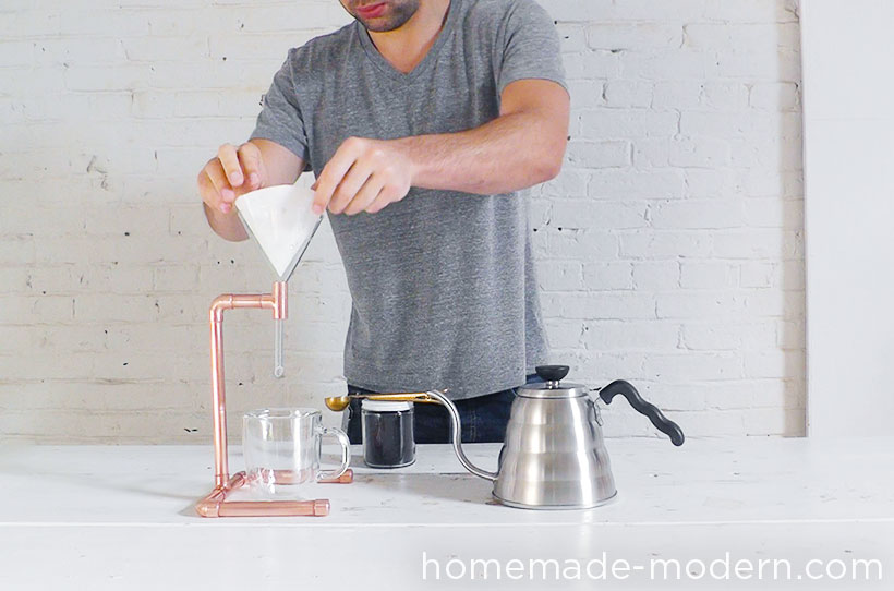 HomeMade Modern DIY EP53 Copper Coffee Maker Step 7