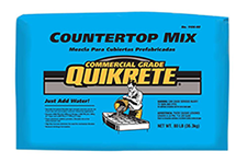 HomeMade Modern DIY Commercial Grade Quikrete Countertop Mix
