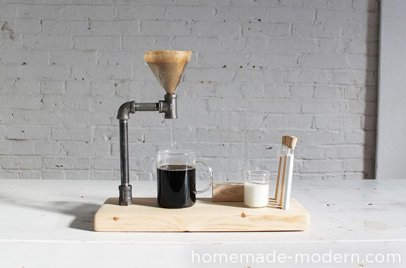 HomeMade Modern DIY Pipe Coffee Maker Options