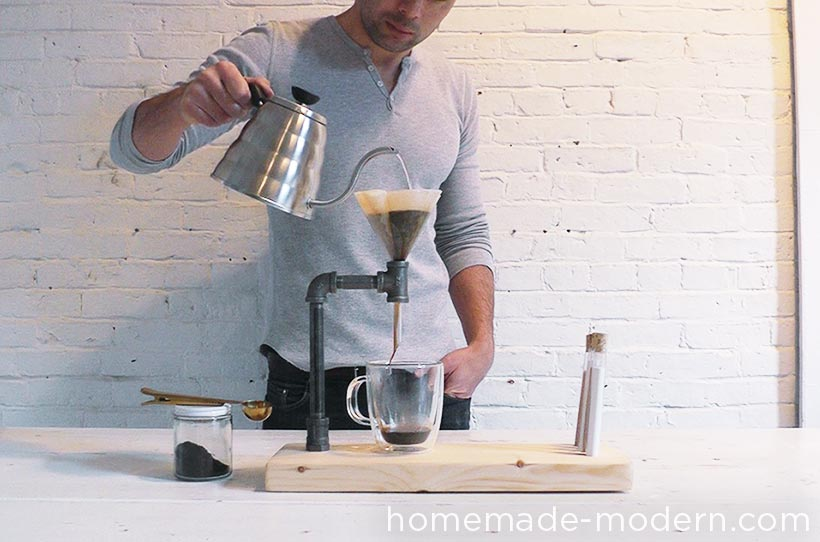 HomeMade Modern DIY EP54 Pipe Coffee Maker Step 9
