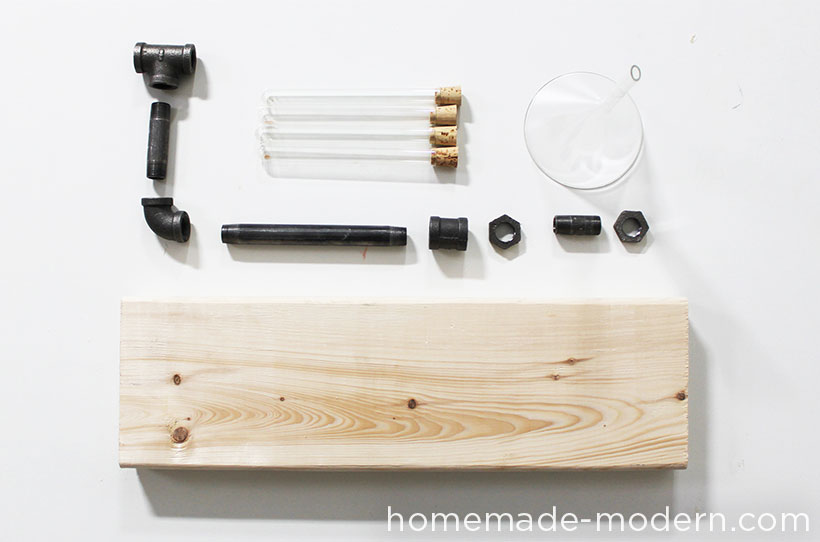 HomeMade Modern DIY Pipe Coffee Maker Supplies