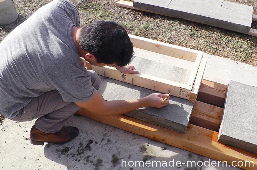 HomeMade Modern DIY EP55 Concrete Bar Step 15