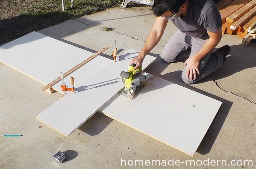 HomeMade Modern DIY EP55 Concrete Bar Step 1