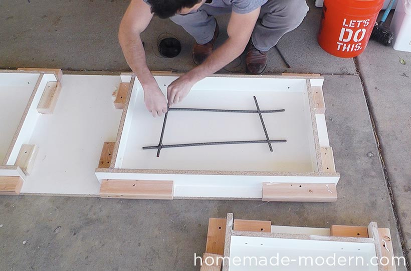 HomeMade Modern DIY EP55 Concrete Bar Step 8