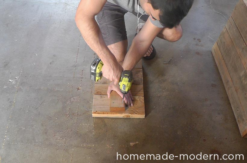 HomeMade Modern DIY EP57 Outdoor Concrete Bench Step 1