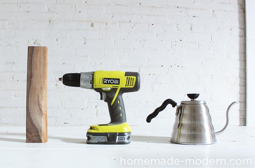 HomeMade Modern DIY Coffee Pot Upgrade Supplies