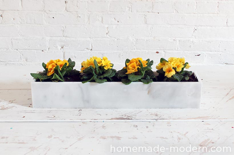 HomeMade Modern DIY EP59 Marble Planters Options