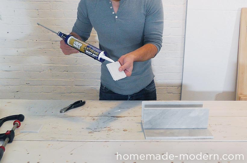 HomeMade Modern DIY EP59 Marble Planters Step 3