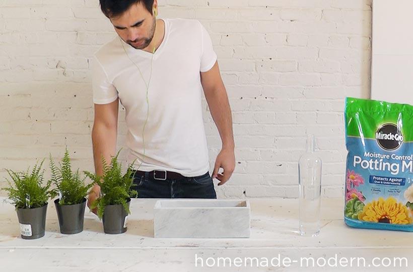 HomeMade Modern DIY EP59 Marble Planters Step 7