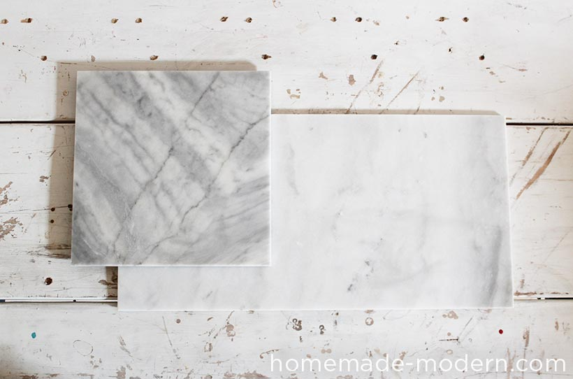 HomeMade Modern DIY Marble Planters Supplies