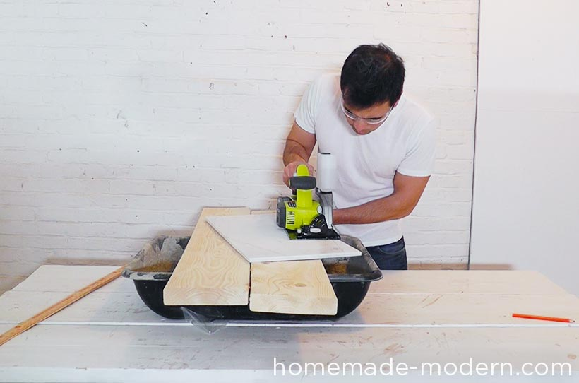 HomeMade Modern DIY EP61 Geometric Marble Coffee Table Step 2