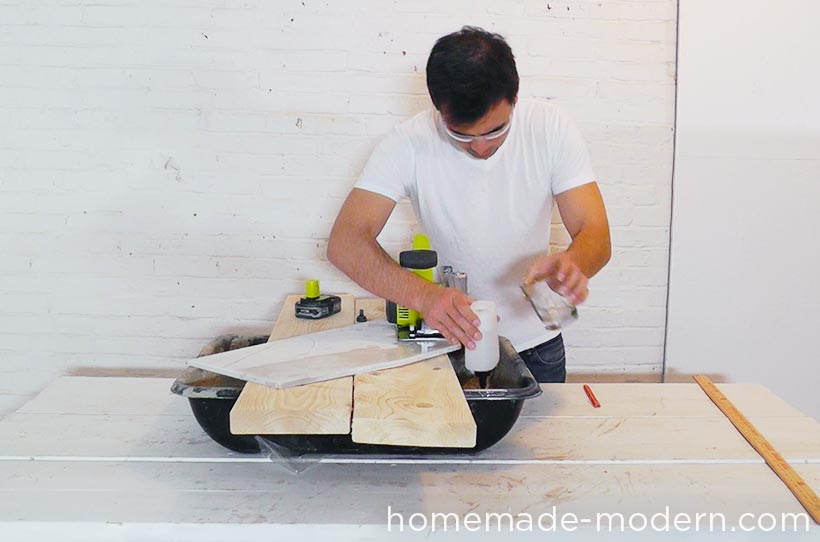 HomeMade Modern DIY EP61 Geometric Marble Coffee Table Step 3
