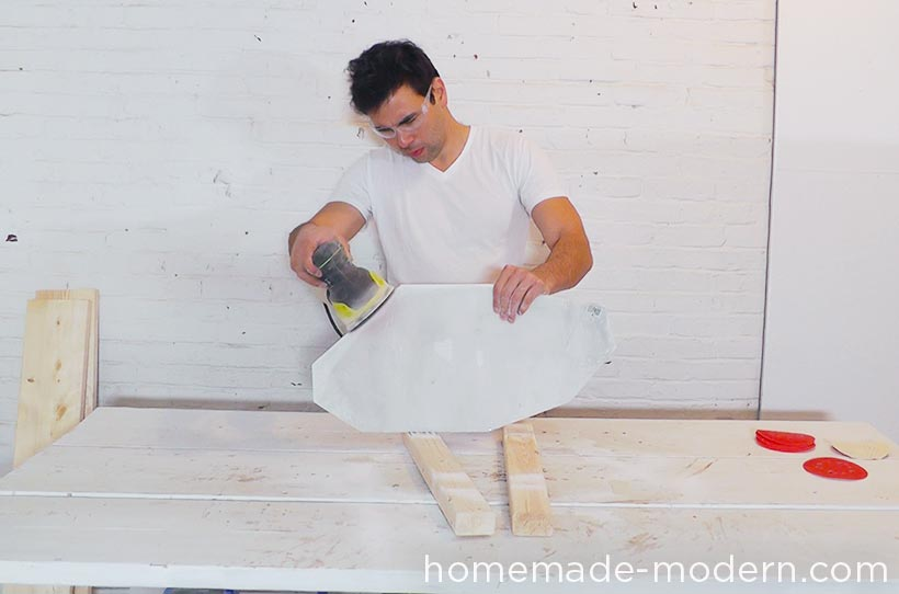 HomeMade Modern DIY EP61 Geometric Marble Coffee Table Step 5