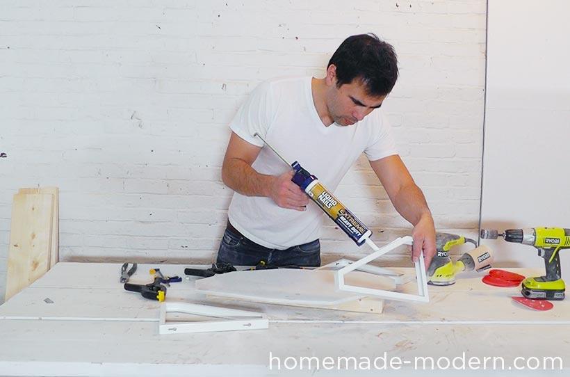 HomeMade Modern DIY EP61 Geometric Marble Coffee Table Step 6