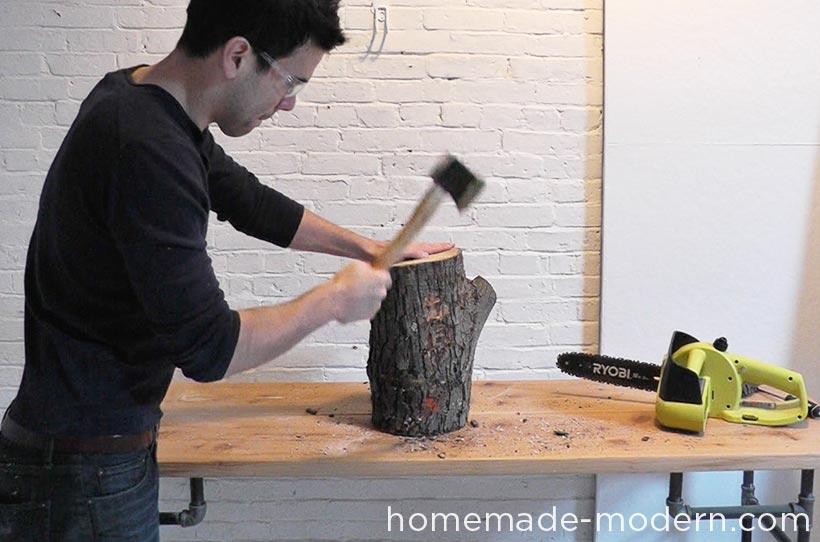 HomeMade Modern EP62 Little Log Chair