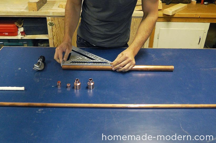 HomeMade Modern DIY EP63 Copper Tiki Torches Step 1