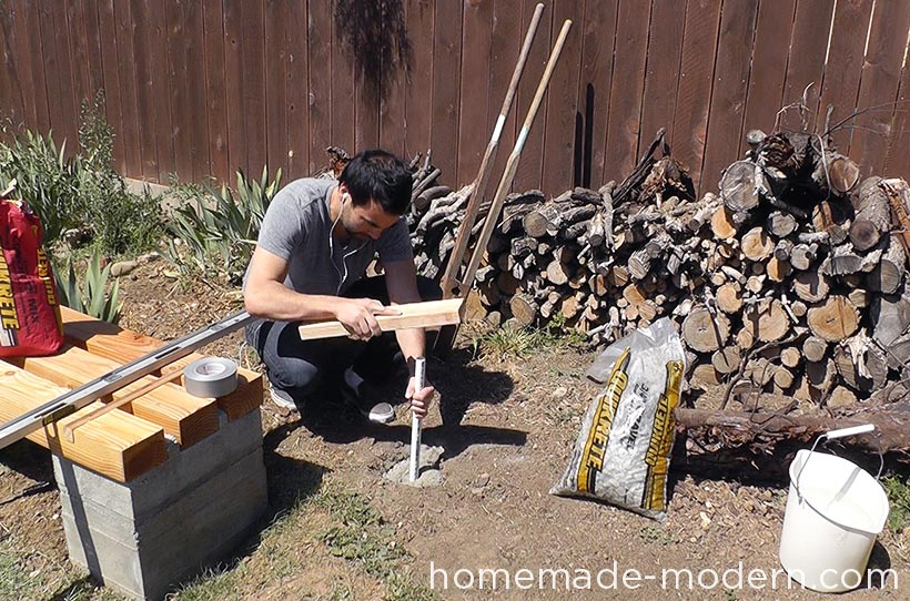 HomeMade Modern DIY EP63 Copper Tiki Torches Step 8