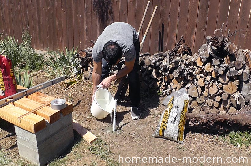 HomeMade Modern DIY EP63 Copper Tiki Torches Step 9