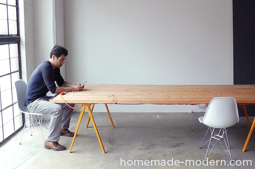 HHomeMade Modern DIY EP64 Conference Table Options