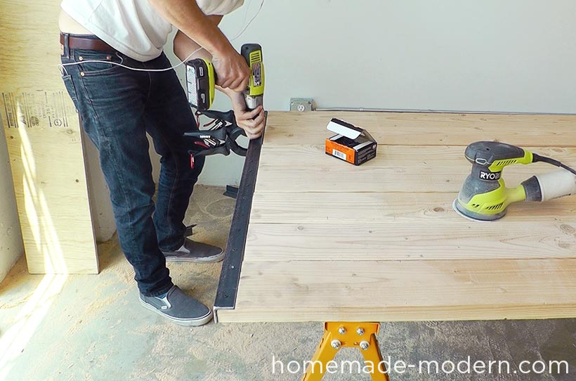 HomeMade Modern DIY EP64 Conference Table Step 12