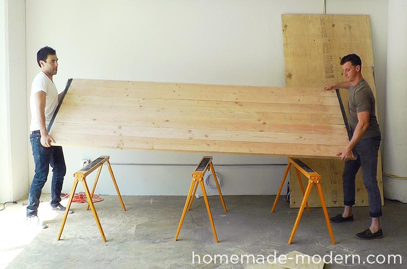 HomeMade Modern DIY EP64 Conference Table Step 14