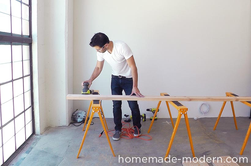 HomeMade Modern DIY EP64 Conference Table Step 2