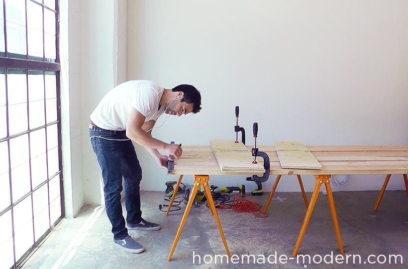 HomeMade Modern EP Conference Table - 4 person conference table